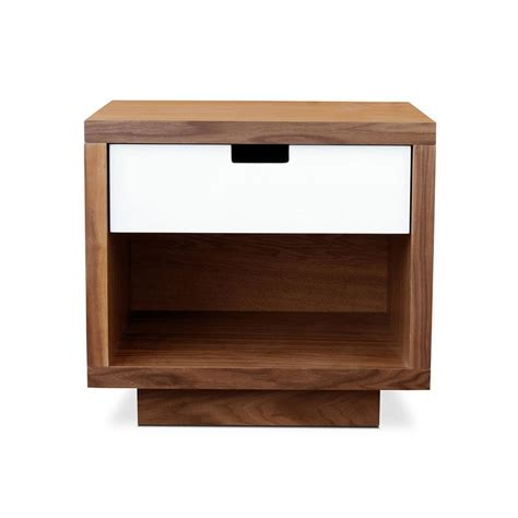 modern end table with storage wilson end table storage gus modern