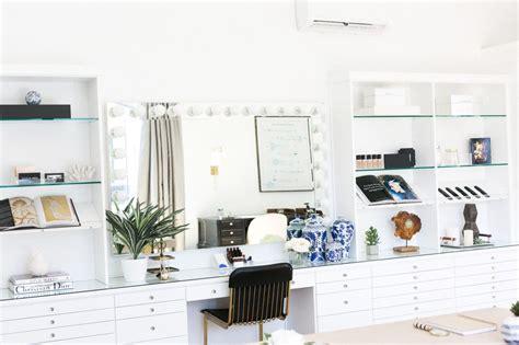glam life gurus epic beauty studio makeover  kate interior design glam room beauty