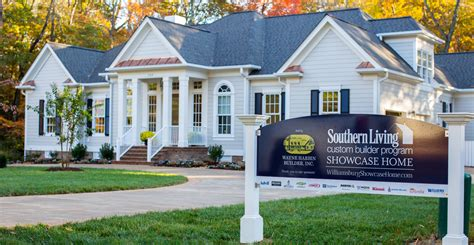 southern living houses liz moore associates teams with local builder to host