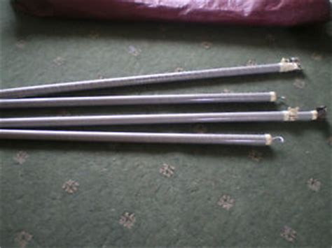 isabella awning pole spares caravan awning spare roof pole fibreglass isabella x2 pair