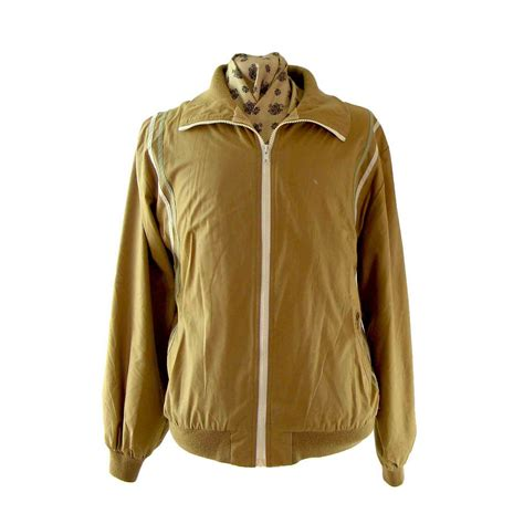 Jaket Zipper Cloud 9 Putih 80s zipper jacket blue 17 vintage fashion
