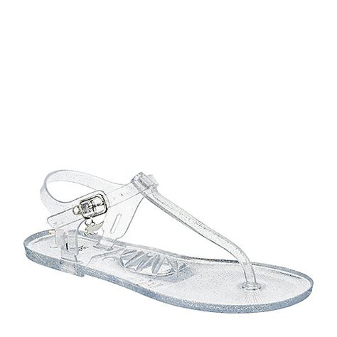 clear jelly sandals for toddlers shiekh ian 2s clear flat jelly t sandal