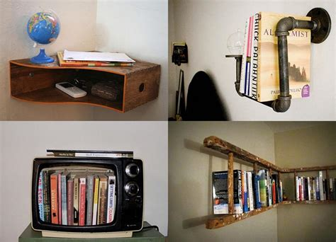 cool bookshelf ideas make a creative and unique bookshelf by your own