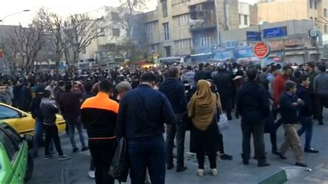 news iran 2 killed during protests in iran news agency says today