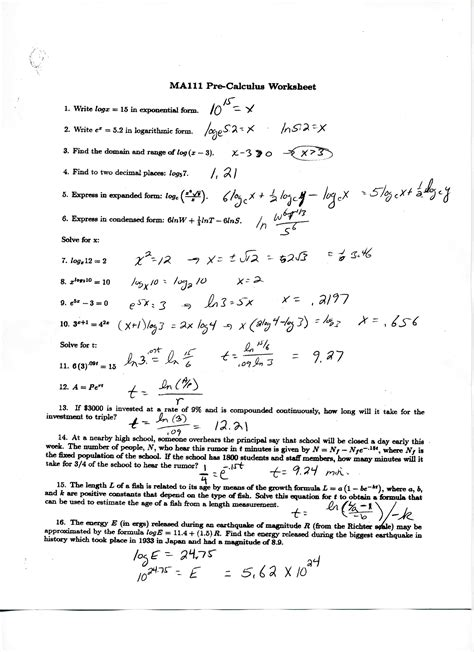 Logarithm Worksheet With Answers by Search Results Logarithm Worksheet The Best Hair Style