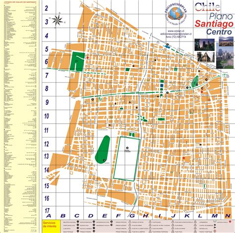 santiago chile map large santiago maps for free and print high