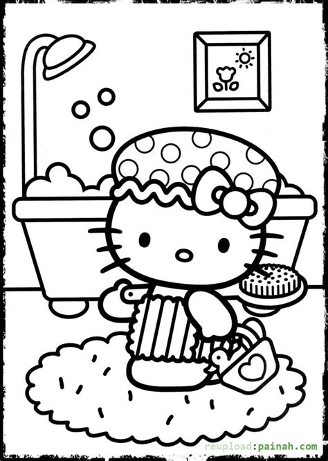 hello kitty ladybug coloring pages hello kitty coloring pages for girls free printable