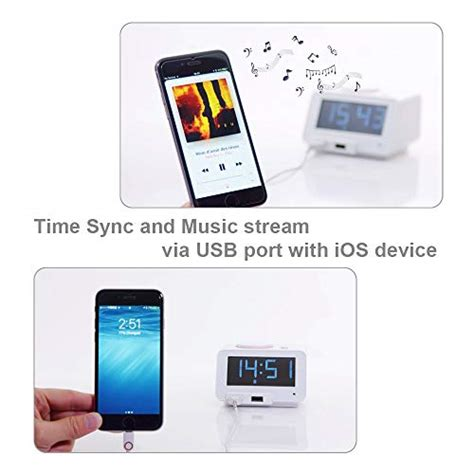 homtime loud alarm clock with wireless powerful bed shaker for heavy c2 white 420305922553 ebay