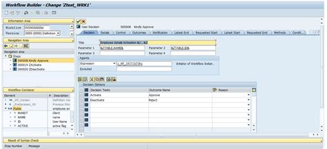 sap workflows sap workflow tables 28 images how to create general