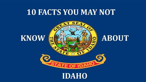 10 Facts You May Or May Not Know About The 1 4 2 Update - idaho 10 facts you may not know youtube
