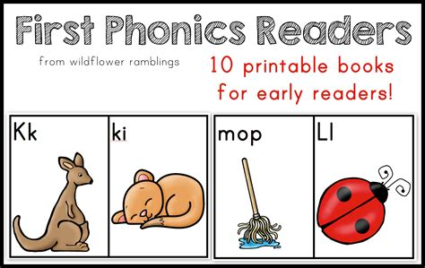 phonics readers book  wildflower ramblings