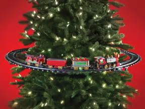 in tree christmas train the green head