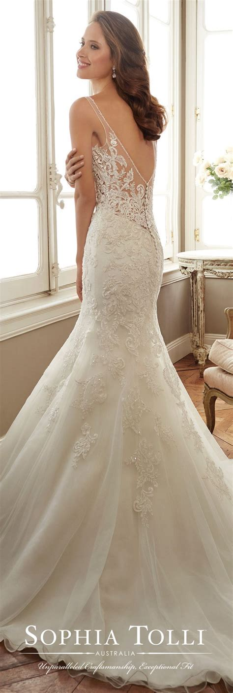 1000  images about Illusion Back Wedding Dresses on