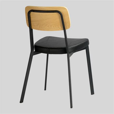 commercial dining chairs commercial dining chairs metal perforated back