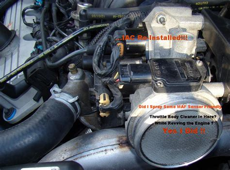 intake air control cleaning iac on 97 park avenue gm forum buick cadillac olds gmc how to clean the iac intake air control 3800 v6 gm