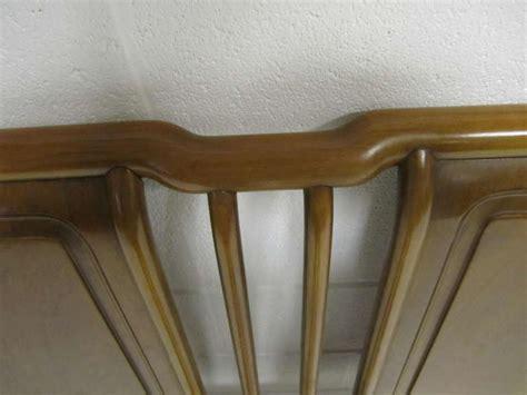 john widdicomb mid century modern bedroom set at 1stdibs lovely john widdicomb light walnut headboard mid century