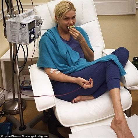 how did yolanda foster get the lyme disease yolanda foster posts hospital bed snap as she fights