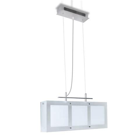 lampara de techo colgante de vidrio  el comedor