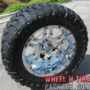 Mt Tires For 20 Inch Rims 20 034 Chrome Moto Metal 951 Wheels 33 034 Toyo Mt Tires