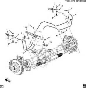 Jc4 Brake System Chevrolet Avalanche Brake Lines Rear
