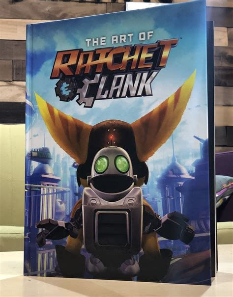 the art of ratchet and clank coming this summer from dark horse comics gamecuddle
