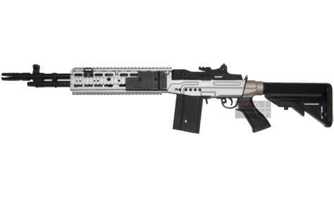 M14 Gearbox Shell Cyma cyma m14 ebr silver aeg metal