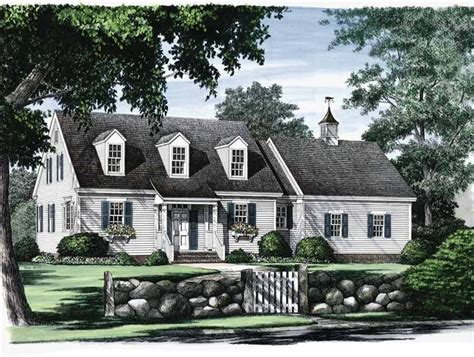 colonial cape cod house cape cod style home plans eplans