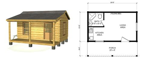 small cabin floor plans view source more log cabin ii 16x20 cabin plans