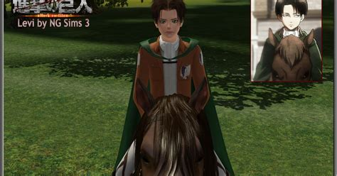 attack on titan sims 3 hair ng sims 3 levi shingeki no kyojin attack on titan