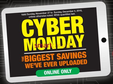 the home depot canada cyber monday flyer deals sale 2016