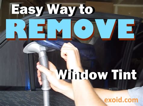 easy   remove automotive window tint youtube