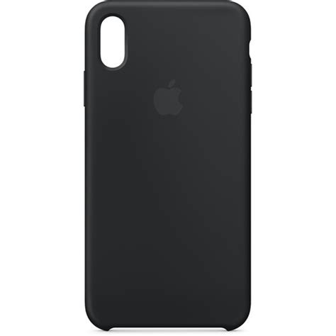 apple iphone xs max silicone case black mrwezma bh photo