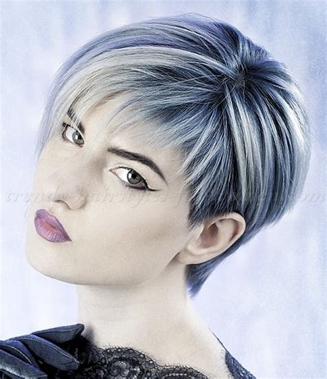 asymetrical short hair styles for older women short hairstyles with long bangs asymmetrical short