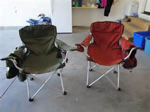 eddie bauer chairs lot 156 pair of eddie bauer cing chairs with bags