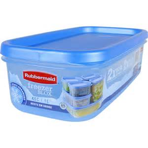 Rubbermaid freezer blox 4 6 cup food storage container storage bowls