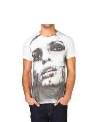 White Smtb Print T Shirt helmut lang tar print t shirt where to buy how to wear
