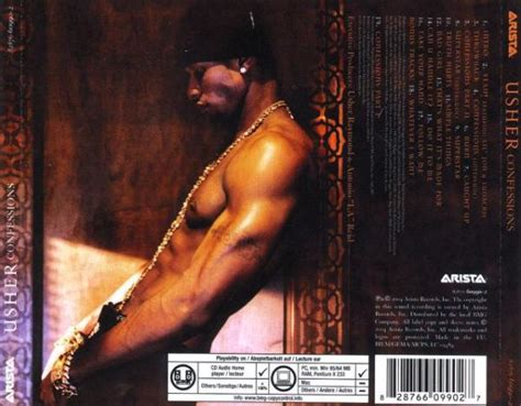 Cd Usher Confessions Special Edition usher confessions album
