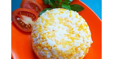 resep masak nasi jagung enak  sederhana cookpad