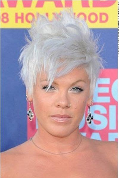 hairstyles grey hair funky 138 best hair and makeup images on pinterest