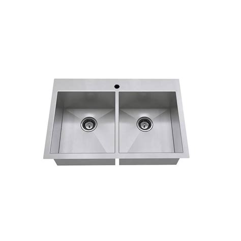 Standard Kitchen Sink by American Standard Edgewater Zero Radius Undermount 33 In