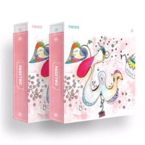 twice page two po twice page two limited cheer up kit set