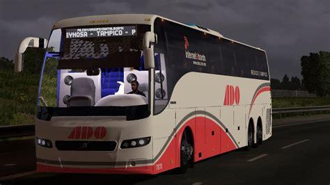 mod bus game euro truck simulator volvo 9700 select skin mx modbus euro truck