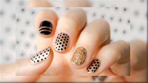 imagenes de uñas en negro con dorado las mejores ideas de decoraci 243 n de u 241 as mis u 241 as decoradas