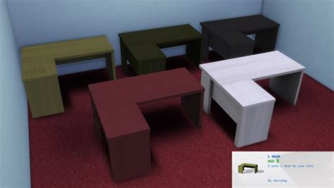Best Websites For Home Decor mod the sims l desk by necrodog sims 4 downloads
