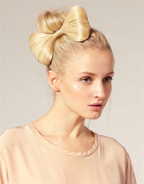 cute hairstyles no hairspray прическа бант из волос сделать проще простого