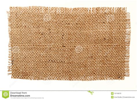 Patching Material Patch Of Aged Sack Material Royalty Free Stock Images