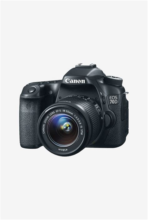 70d price buy canon eos 70d dslr black at tatacliq