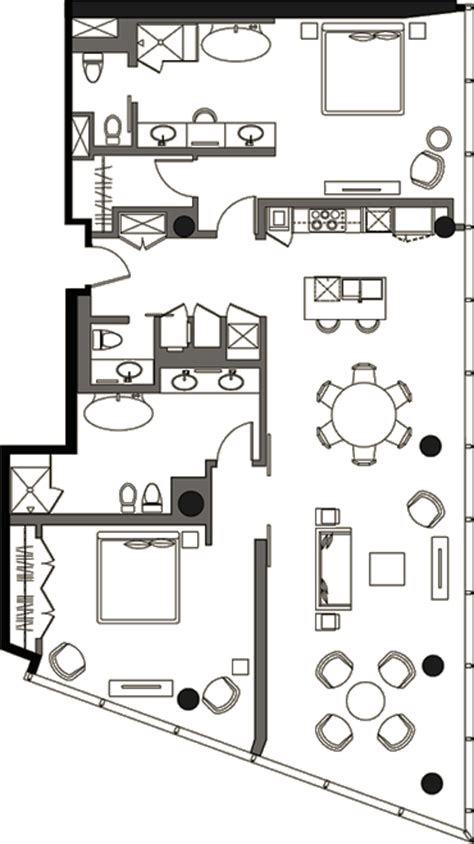 veer towers floor plans penthouse 2 bedroom 187 floor plan 3 187 veer towers