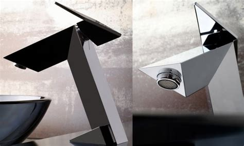 Ultra Modern Bathroom Faucets Ultra Modern Bathroom Faucet Inspired By Stealth Bomber Stealth By Graff Digsdigs