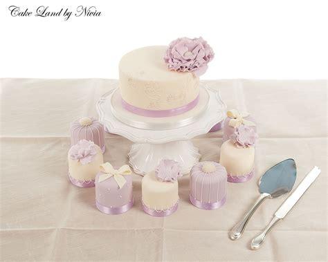 miniature cakes and wedding cake 60 miniature cakes plus a mini wedding cakes cakecentral com